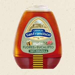 Miel de Flores y Eucalipto (350 gr)