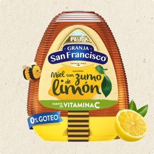 Miel con Zumo de Limón (350 gr)